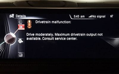 Why Is My BMW Going Into Limp Mode?