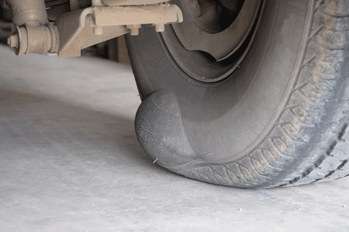 Should I Be Concerned About The Bump On My Tire?